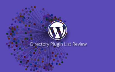 Best Free WordPress Directory Plugin List Review